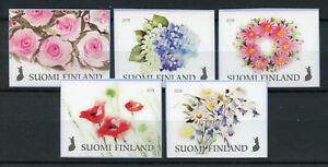 Finland 2018 MNH Flowers of Happiness Roses 5v S/A Set Nature Flora Stamps