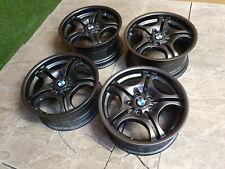 "Refurbished Genuine BMW 3 Series E46 M Sport 17"" Alloy wheels 5x120 Grey"