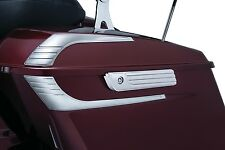 Kuryakyn 6986 Chrome Tri-Line Saddlebag Hinge Covers Harley Dresser 2014-2016