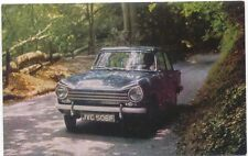 Triumph Herald 13/60 original colour Factory issued Postcard