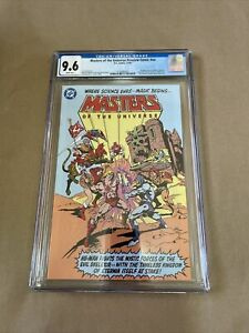 Masters of the Universe Preview Comic #NN Toy Insert Preview CGC 9.6 NM+ 2009