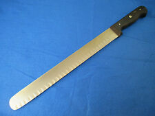 """Henckels 12 inch Stainless Steel Hollow Edge Round Nose Slicing Knife, 314-12"""""""