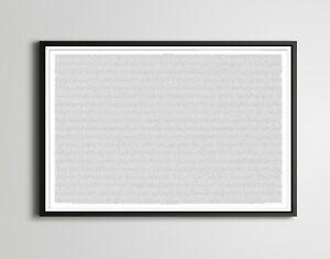 A Christmas Carol (Charles Dickens) Full-Text BOOK POSTER! - Minimalist - Art