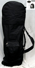 Wheeled Golf Flight Bag / Travel Cover & Pro-tekt Spine Protector - golf holiday