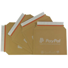 PAYPAL A1 SIZE CARDBOARD RIGID POSTAL ENVELOPES 235x180mm  - ALL QTY'S