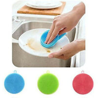 Kitchen Tool Soft Dish Washing Cleaning Brush Silicone Heat-resistant Mat