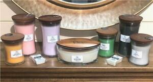 WoodWick Candles and Wax Melts Soybean Crackles as it Burns and Accessories