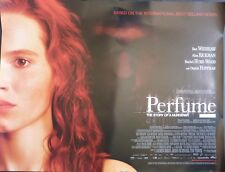 PERFUME THE STORY OF A MURDERER ORIGINAL 2006 CINEMA QUAD POSTER BEN WHISHAW