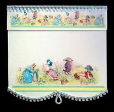 BEATRIX POTTER  BLIND / CURTAIN FOR DOLLS HOUSE  ROOM BOX  BY SYLVIA ROSE