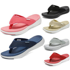 Womens Arch Support Soft Cushion Flip Flops Thong Sandals Slippers Shoes 5-11