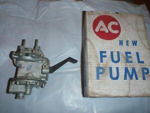 NOS Original GM AC Fuel & Vacuum Pump 55 56 57 Pontiac V8 1955 1956 1957 # 4123