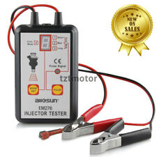 EM276 Fuel Injector Tester 4 Pulse Modes Powerful System Scanner Tool Analyzer