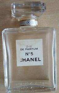 CHANEL No 5 - EMPTY Perfume Bottle Eau de Parfum 50 ml