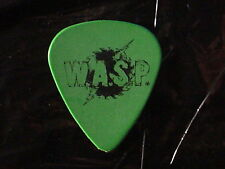 WASP Saw Blade Logo & Mike Duda Signature Stage Used Concert GUITAR PICK