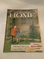 October 1958 The American Home Magazine
