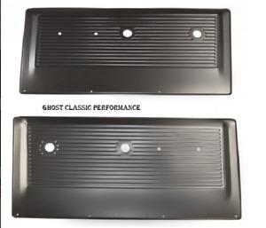 1967-72 Chevy Pickup Truck Inner Interior Stamped Metal Door Panel EDP PAIR NEW!
