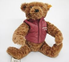 Steiff Teddy Bear for Eddie Bauer 2008 w Insulated Vest Tag and Ear Button