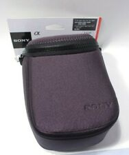 Sony Grey Soft Shell Carrying Case Lcs-Bbf with straps for Sony A6000 series