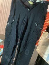 Vintage Danang Sz S asian Cargo Pants Embroidered Black