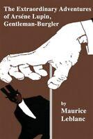 The Extraordinary Adventures of Arsene Lupin, Gentleman-Burglar, Brand New, F...