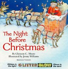The Night Before Christmas (Glitter Glow Board Books) Moore, Clement Clarke Boar