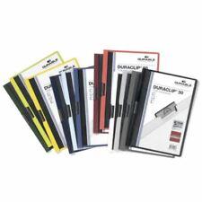 Durable Schnellhefter Duraclip 30 Klemm-Mappe verschiedene Farben 15-32 Stück