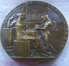 MED6072 - MEDAILLE AGENTS DE CHANGE DE PARIS 1898 par ROTY
