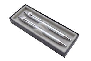 Quill Silver Pen & Mechanical Pencil Set - Safeway Logo NIB