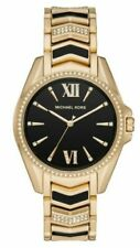 Michael Kors MK6743 Women's Whitney Three-Hand Stainless Steel Watch, Gold