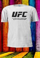 Logo of the Ultimate Fighting Championship UFC Men Women Unisex T-shirt 2904