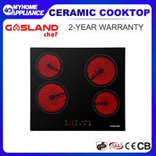 GASLAND Chef Ceramic Cooktop Glass 60CM Electric Kitchen Burner 4 Zone Hob Black
