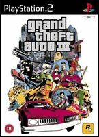 Grand Theft Auto III 3 (PS2 Game)