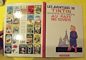 """Les aventures de Tintin reporter du """" Petit Vingtième """" au pays des soviets"""