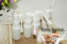 10pcs Mist Throat Nose Nasal Spray Tonsil Stone Care Pump Bottle Empty 20ml NEW