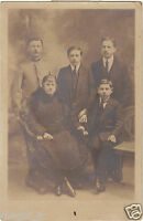Photographie ancienne - Famille (H9597)
