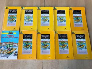 lot 10 livres Ratus Poche TOUS IDENTIQUES : tomes 6 - Série Jaune / 6-7 ans