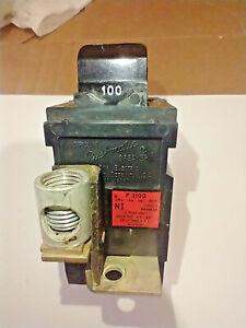 PUSHMATIC P2100 - 100A - 120/240V -  MAIN CIRCUIT BREAKER - FREE SHIPPING