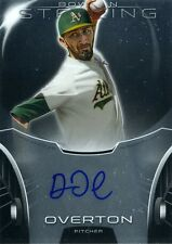 Dillon Overton 2013 Topps Bowman Sterling Prospects  Autograph Auto