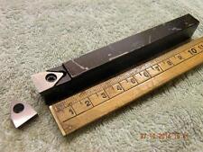 Cuerno indexable de herramienta de torno h117.1612.12 + 2 Insertos las 12.05 mm de ancho