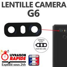 Vitre arrière caméra LG G6  Lentille en verre appareil photo Lens back rear NOIR