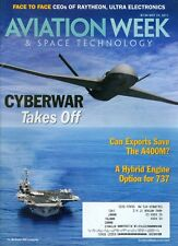 2011 Aviation Week & Space Technology Magazine: Cyberwar Takes Off