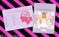 Hen Night Party Games- DUO - Think Like A Bride - Whats In Your Bag - 20 players