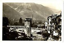 CPSM 06 Alpes-Maritimes Sospel Pont Vieux et la Bévéra Carte photo