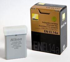 NIKON EN-EL14a BATTERY ORIGINAL NEW D3300-D5300-D3200-D5200p7000 p7100 p7700