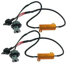 2 7440 7443 LED Canbus Error Free Load Resistor Warning Canceler Decoder Harness