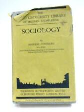 Sociology (Home University Library) Morris Ginsberg 1934 Book 26558