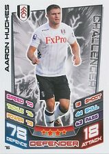 N°076 AARON HUGHES # IRELAND NORTH FULHAM.FC TRADING CARD MATCH ATTAX TOPPS 2013