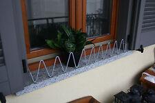 Vaso Sicuro sul balcone e davanzali, Serpentello colore grigio