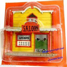 Le SALOON maison la ville de LUCKY LUKE en plomb PLASTOY bar cow boy casa house
