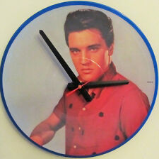"ELVIS PRESLEY*COOL PICTURE DISC CLOCK!**GREAT GIFT*12""--$40.**FREE SHIPPING!"